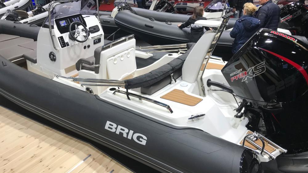Brig eagle 6 7 rib boat
