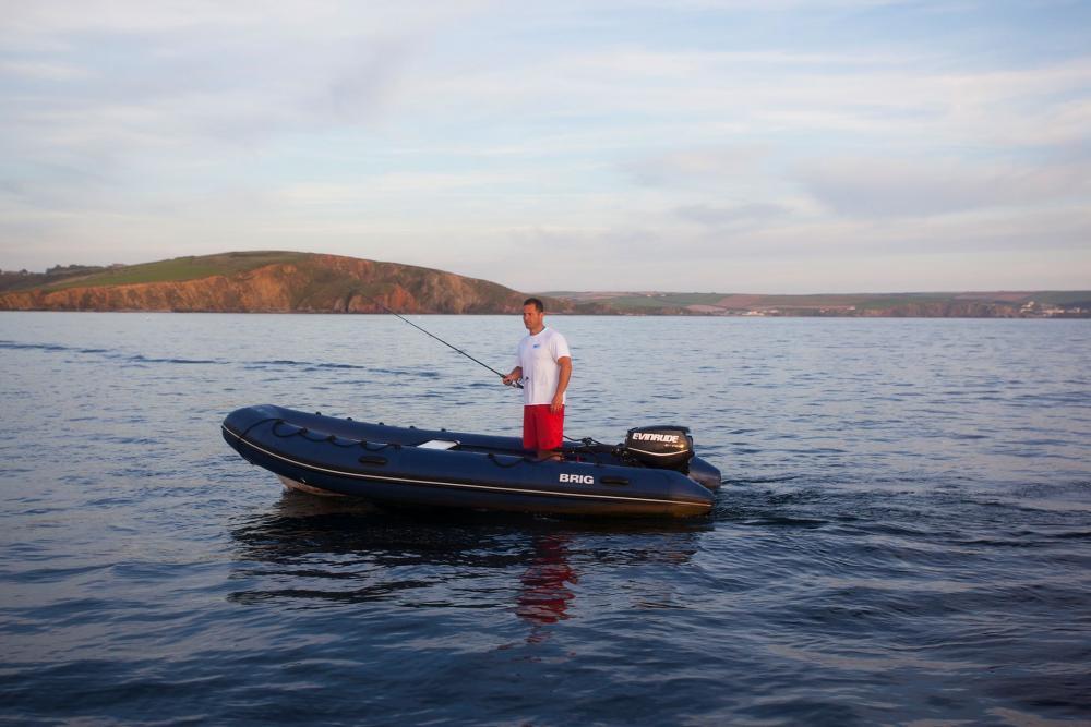 Festrumpfschlauchboot brig 4 meter