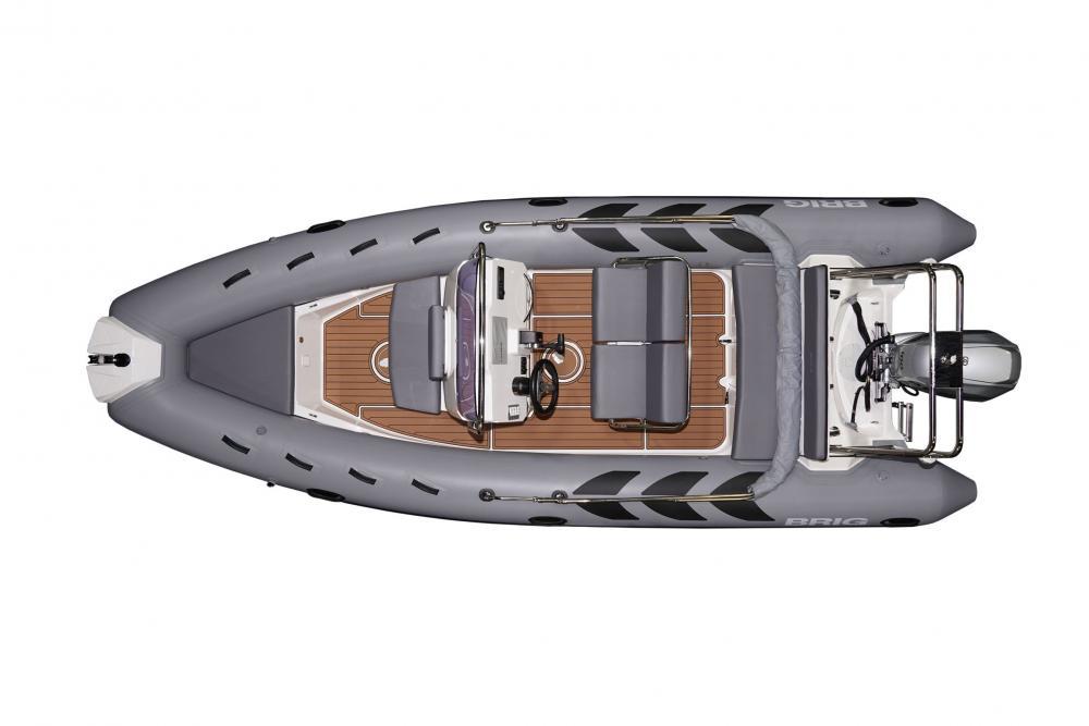 Brig n570l festrumpfschlauchboot