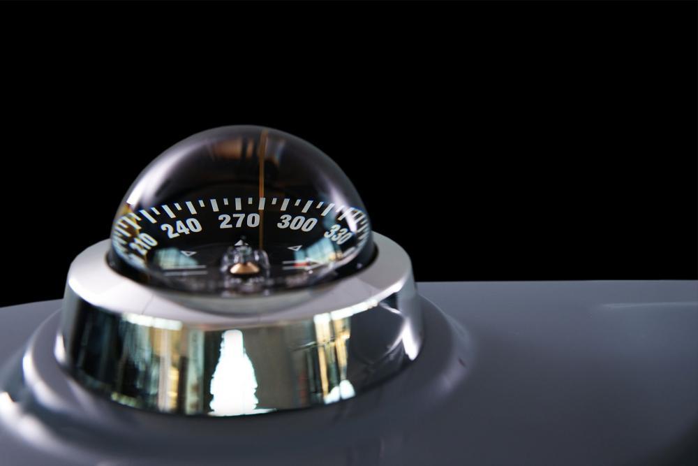Marinekompass ausstattung rib brig
