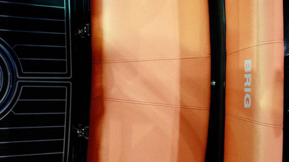 BRIG E5 silvertex polster orange