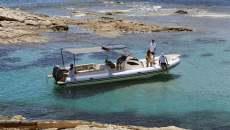 Schlauchboot mit gfk rumpf