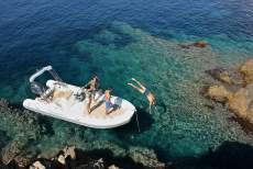 Sommer ausflug boot
