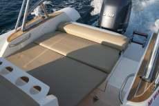 Sonnenliege schlauchboot
