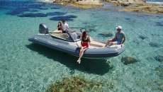 Festurmpfschlauchboot bowrider style boot