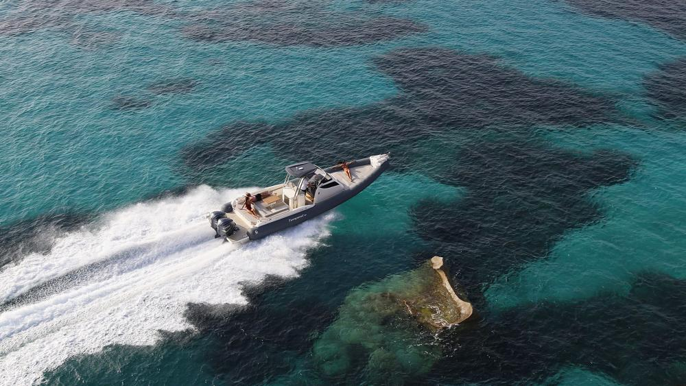 Capelli festrumpfschlauchboot tempest 38