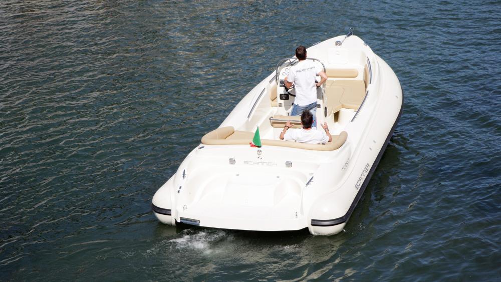 Festrumpfschlauchboot italienisches design