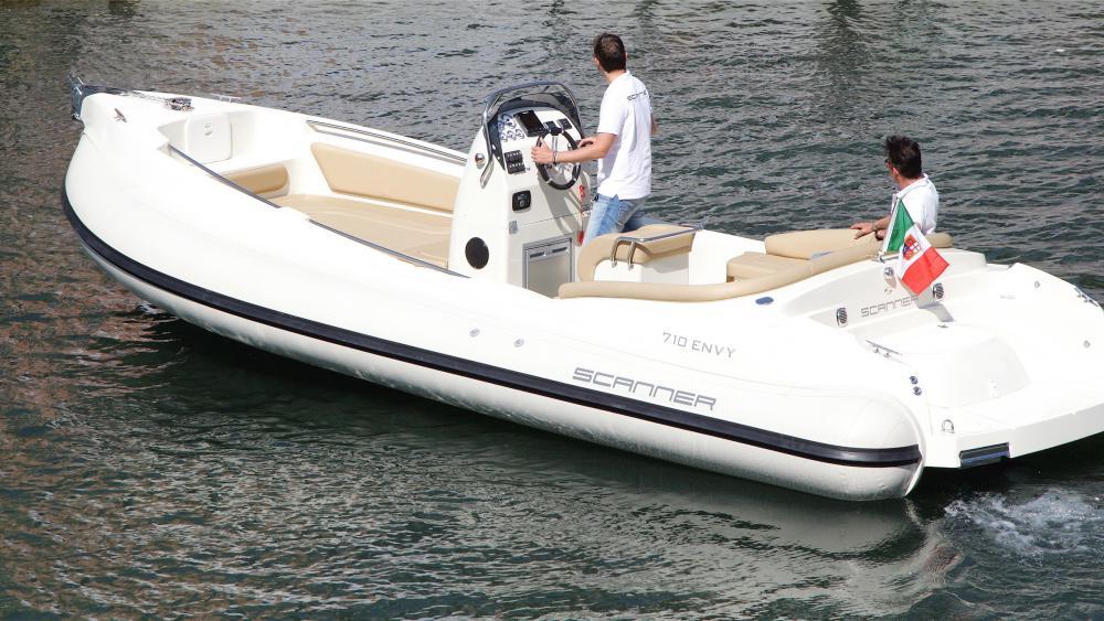 Italienisches bootdesign