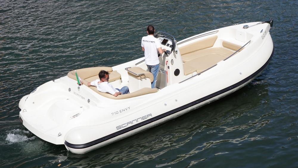 Scanner boats rib 7 meter