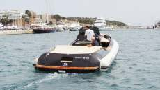 Rigid inflatable boat scanner