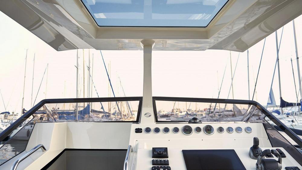 Cockpit festrumpfschlauchboot mit kabine
