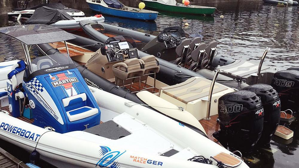 High performance boat rib