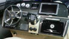 Carbon dashboard boat