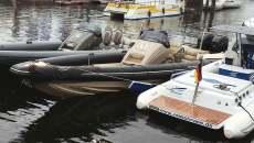 Speedboat technohull