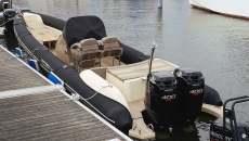 Technohull rib boat