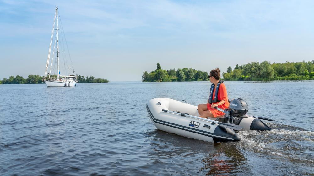 Yamaha beiboot tender schlauchboot