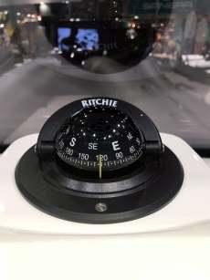 Cockpit boot kompass