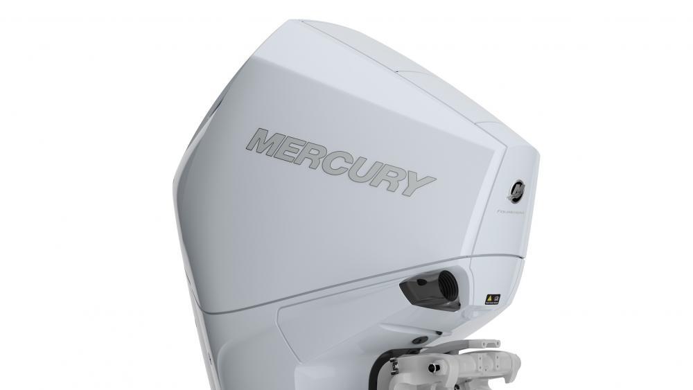 Mercury aussenborder cold fusion white