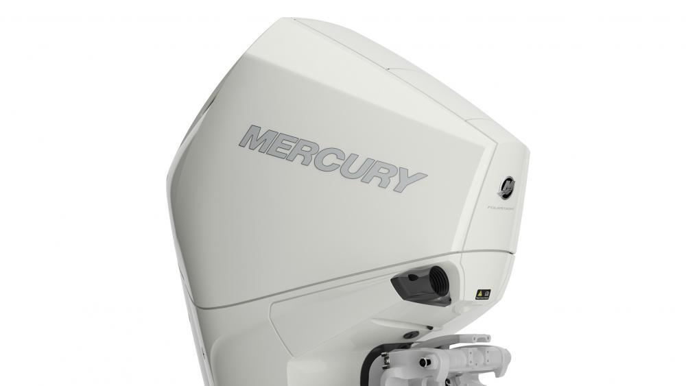 Mercury aussenborder warm fusion white