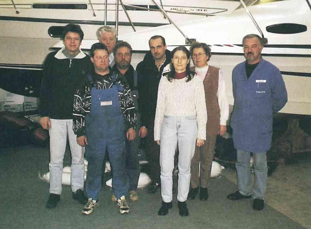 2001 – unsere Crew